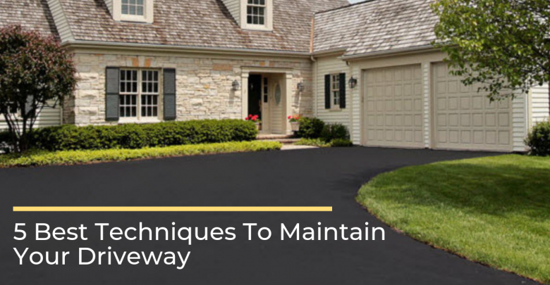 Photo of 5 Best Techniques To Maintain Your Driveway