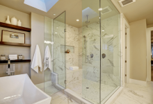 Photo of Ceiling Glass Design Ideas For Bathroom Looks More Stylish