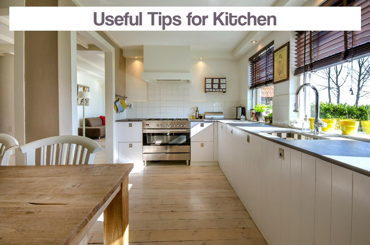 Useful Tips for Kitchen
