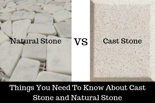 Natural Stone or Cast Stone