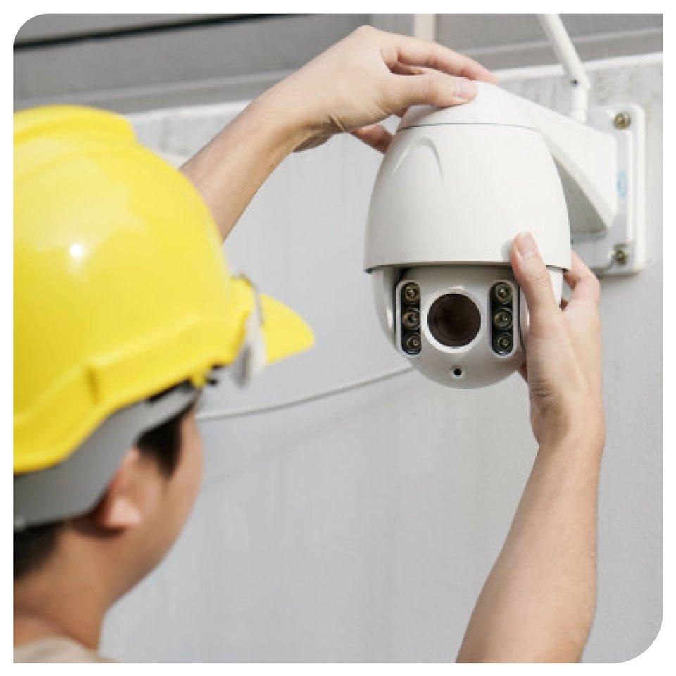 Installing a CCTV Camera