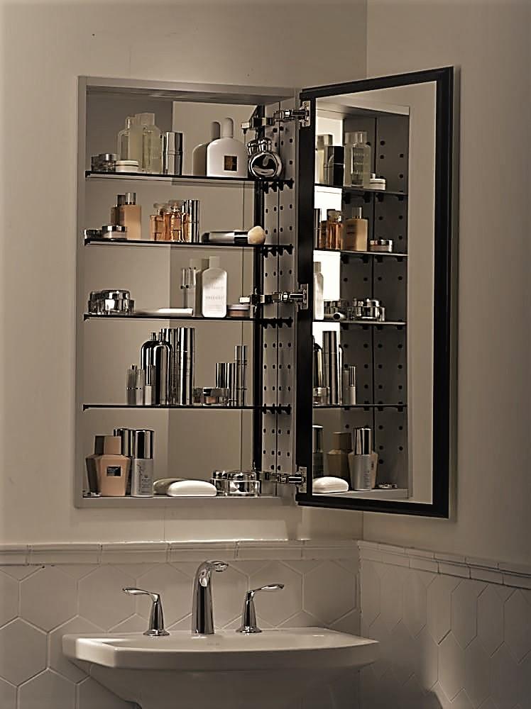 Bathroom Glass Shelves