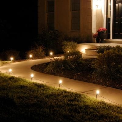 Lumabase Pathway Clear String Lights