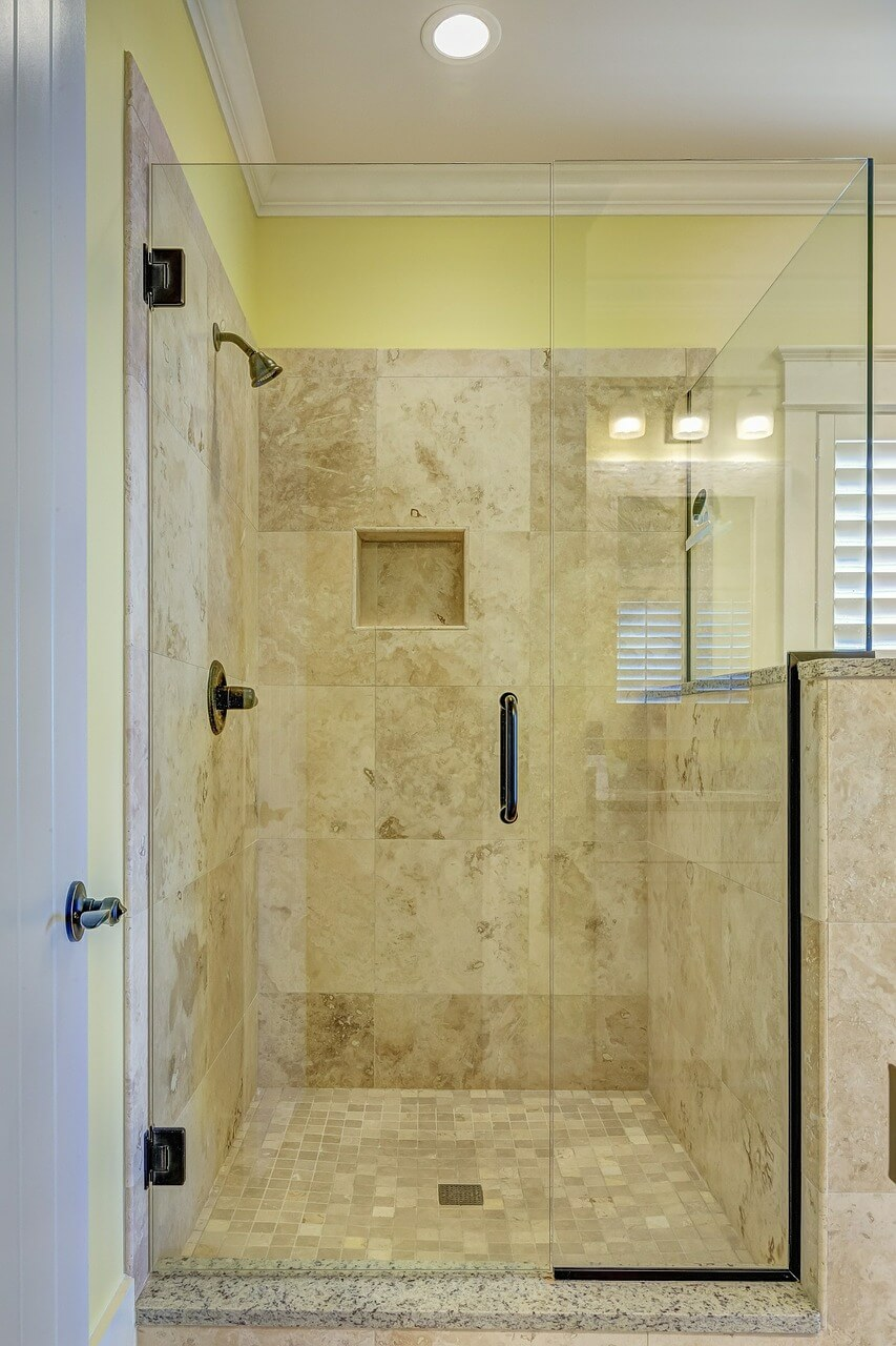 Clean Shower Doors With WD40